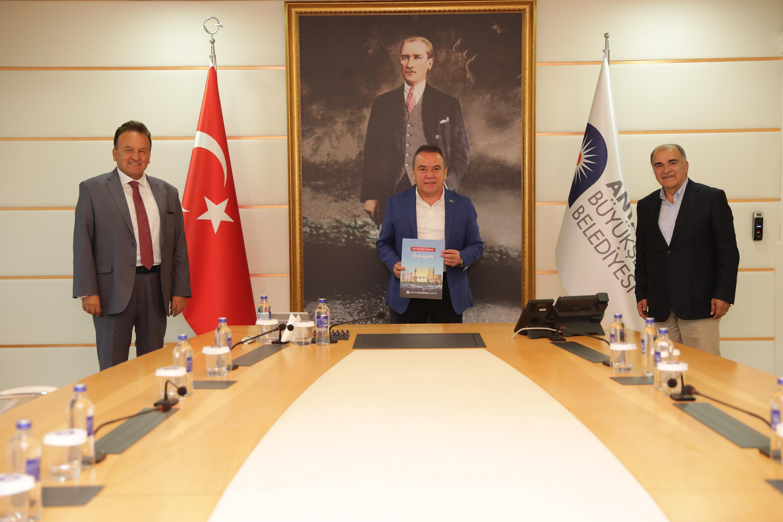 Başkan Böcek, Baraner ve Ayık turizmi masaya yatırdı