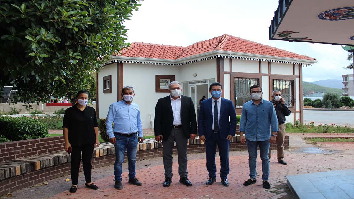 Başkanvekili, Mehmet Hacıarifoğlu Kumluca'da incelemelerde bulundu