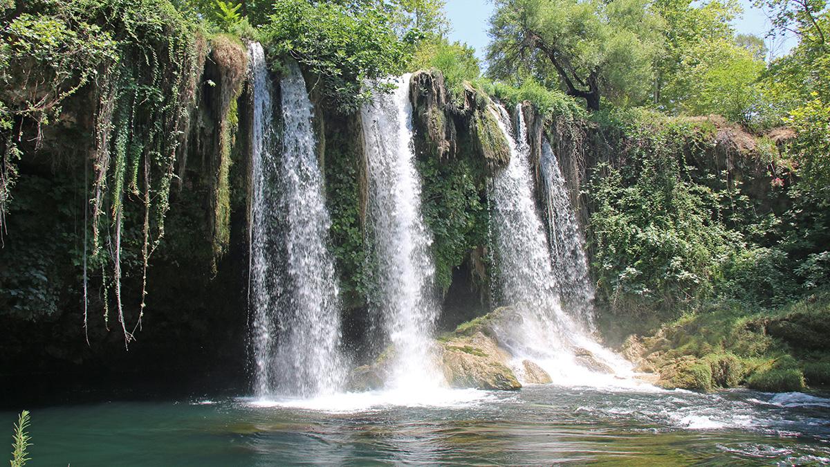 Düden Şelalesinde su seviyesi ölçümleri başladı