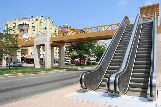 Büyükşehir Belediyesi Kızılırmak üst geçidini tamamlandı