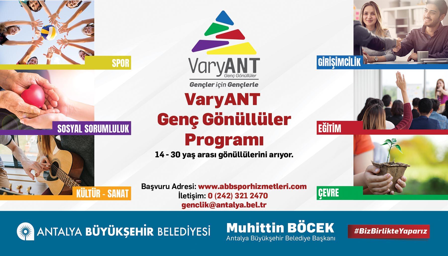"""""""VaryANT Genç Gönüllüler"""" Programı başladı"""